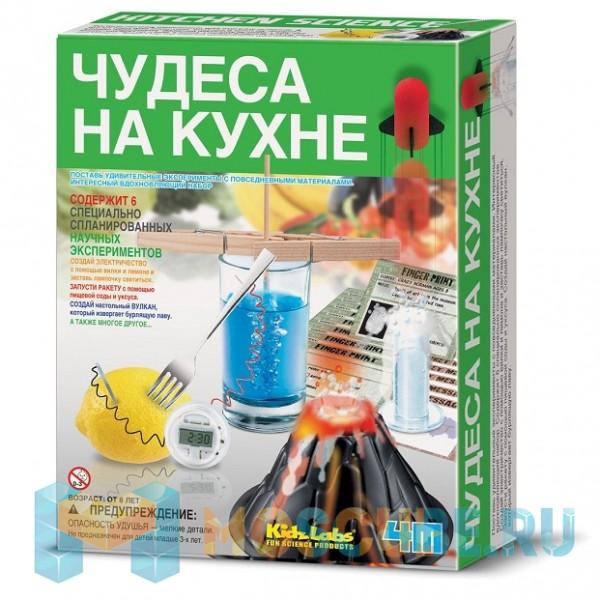 Набор 4M KidzLabs Чудеса на кухне 00-03296
