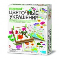 Набор Green Creativity 4M Цветочные Украшения 00-04567
