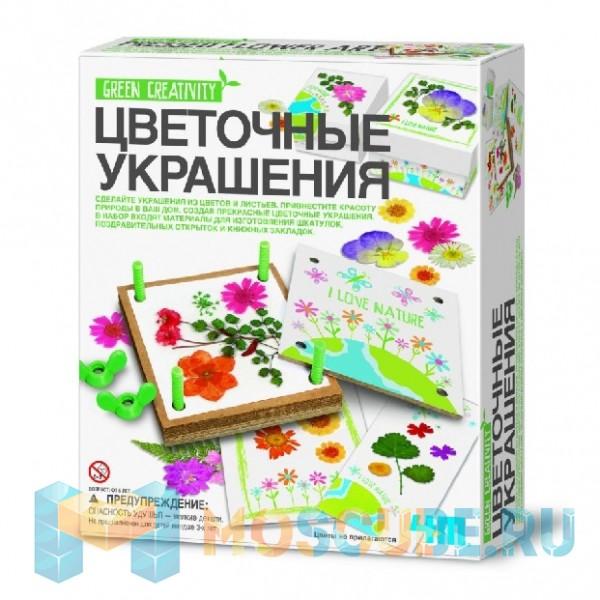 Набор 4M Green Creativity Цветочные Украшения 00-04567