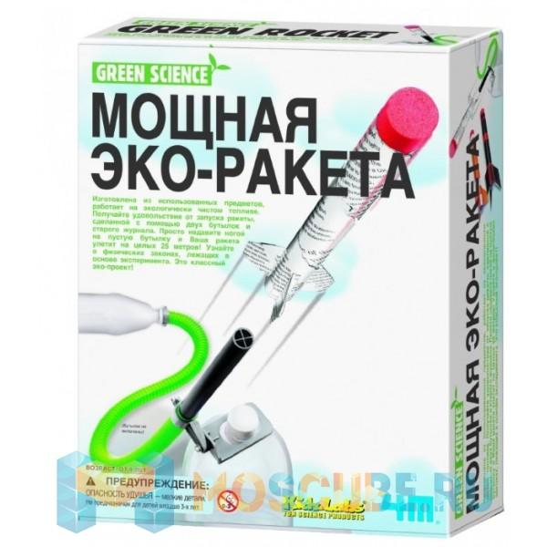 Набор 4M Green Science Мощная Эко-Ракета 00-03298