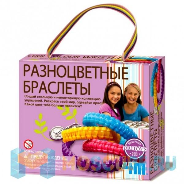 Набор 4M Разноцветные Браслеты 00-04643