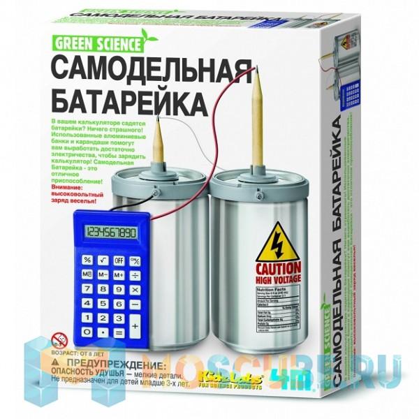 Набор 4M Green Science Самодельная Батарейка 00-03360