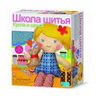 4m Школа шитья Кукла и щенок