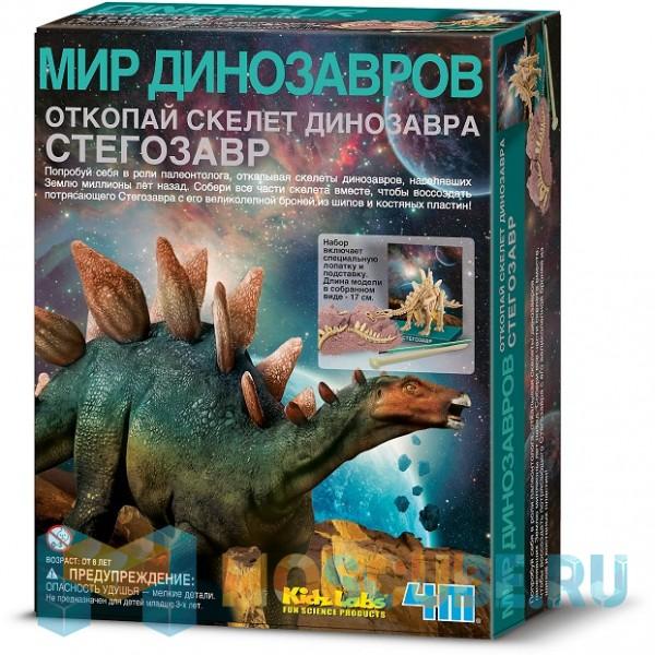 4m Скелет Стегозавра