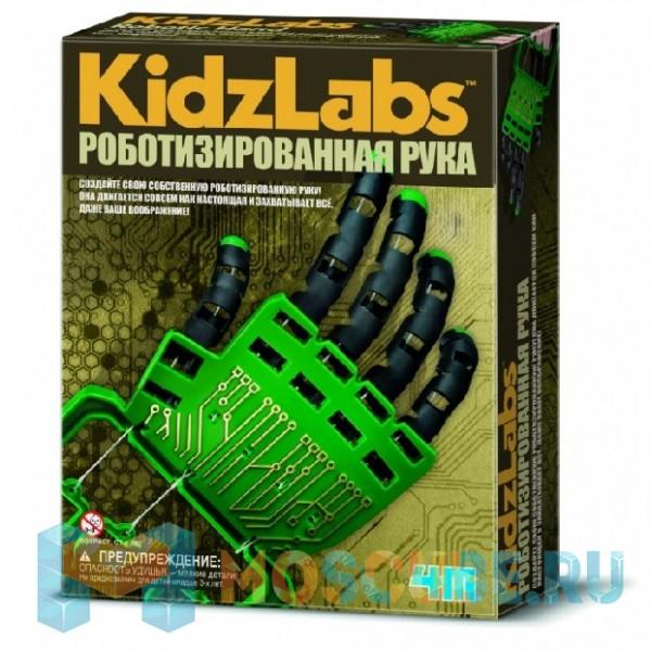 Набор 4M KidzLabs Роботизированная Рука 00-3284