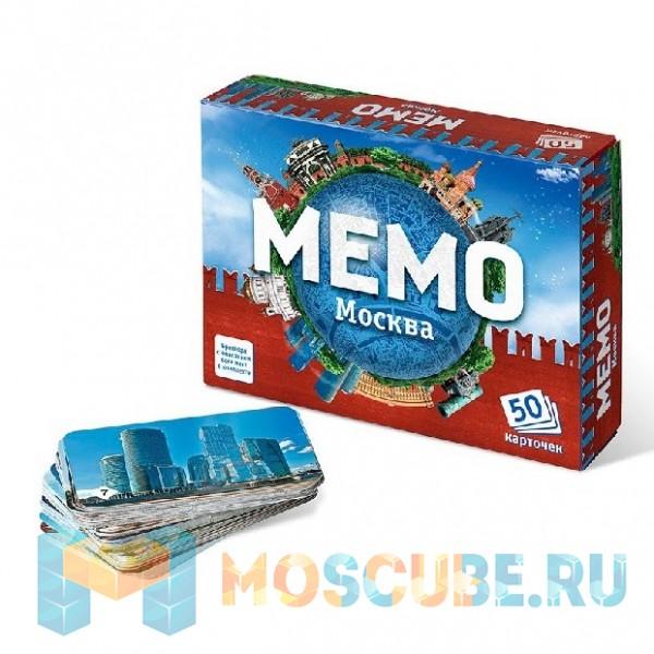 Настольная игра Нескучные игры Мемо ''Москва''
