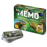 Настольная игра Нескучные игры Мемо ''Удивительные животные''