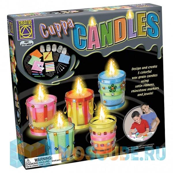 """CREATIVE Дизайнерские свечи """"Стаканчики"""""""