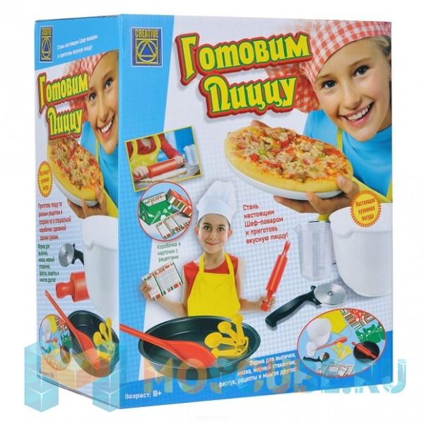CREATIVE Готовим пиццу