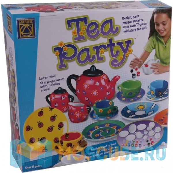 CREATIVE Украшаем чайный сервиз