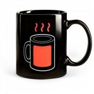 Термочувствительная кружка Индикатор оранжевый