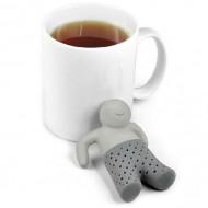 Заварник для чая Mr. TeaMan серый