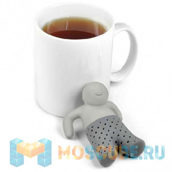 """Ситечко для чая Mr.TEA """"Человечек Серый"""" 96568"""