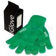 Перчатки iGlove (зеленый)