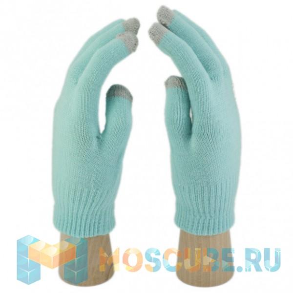 Перчатки iGlove (светло-голубой)
