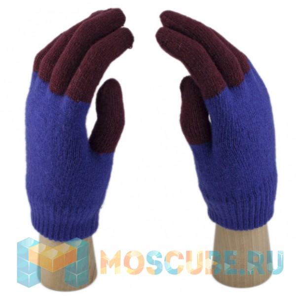 Сенсорные Перчатки Легкие (сине-красные)