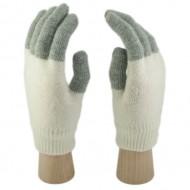 Сенсорные Перчатки Легкие (бело-серые)