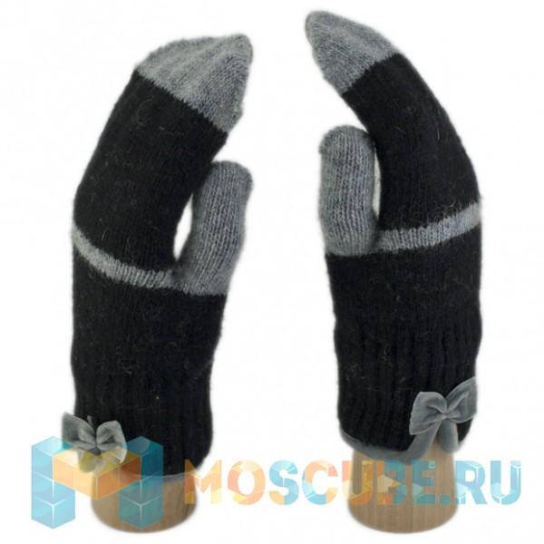 Сенсорные Варежки (чёрно-серый)