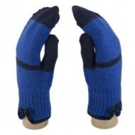 Сенсорные Варежки (синий)