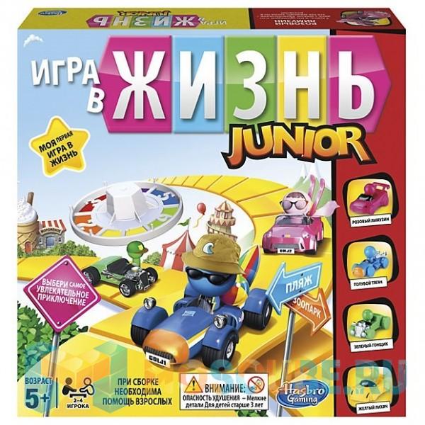 Настольная игра Hasbro Моя первая Игра в жизнь B0654