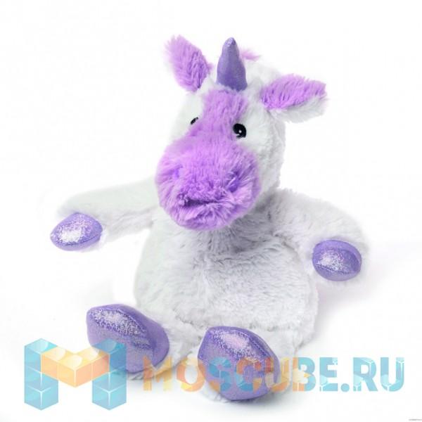Warmies Intelex Игрушка-грелка Cozy Plush Белый единорог