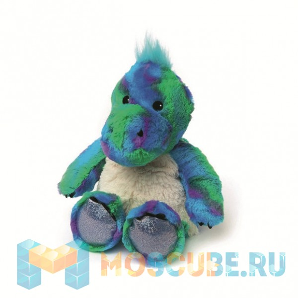 Warmies Intelex Игрушка-грелка Cozy Plush Блестящий динозавр