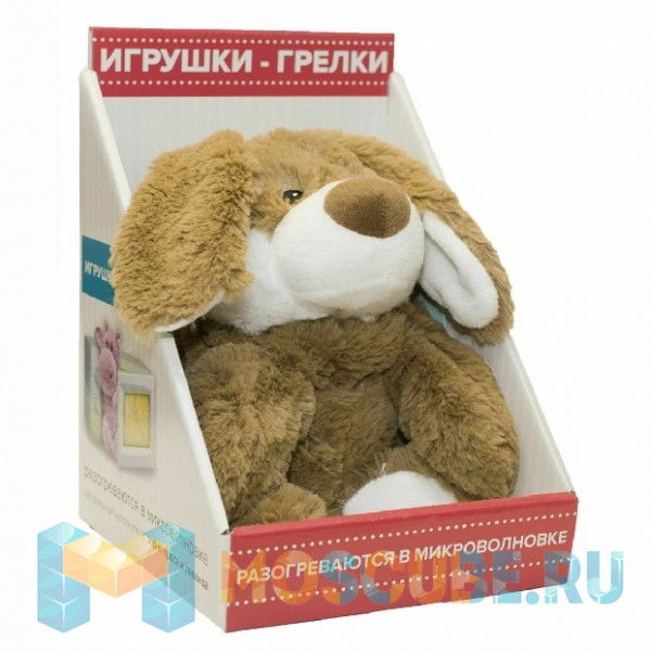 Warmies Intelex Игрушка-грелка Cozy Plush Коричневый Кролик