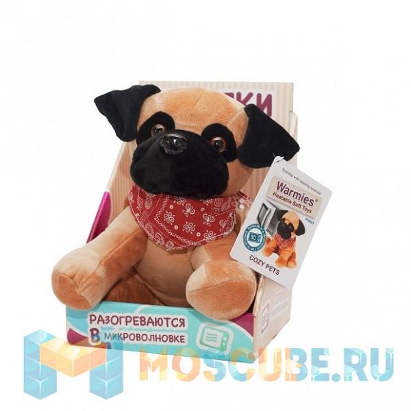 Warmies Intelex Игрушка-грелка Cozy Pets Мопс Пагси