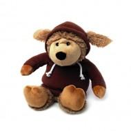 Warmies Intelex Игрушка-грелка Cozy Plush Овечка в худи коричневая
