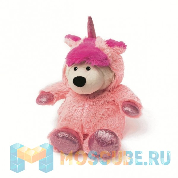 Warmies Intelex Игрушка-грелка Cozy Plush Унси розовый