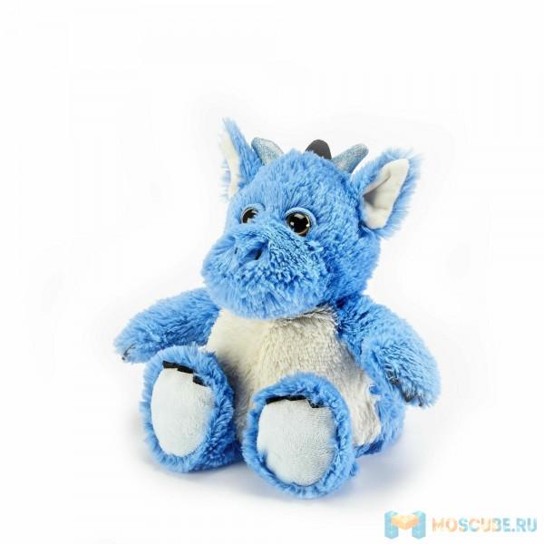 Warmies Intelex Игрушка-грелка Cozy Plush Синий Дракон