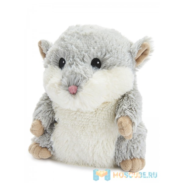Warmies Intelex Игрушка-грелка Cozy Plush Серый Хомяк
