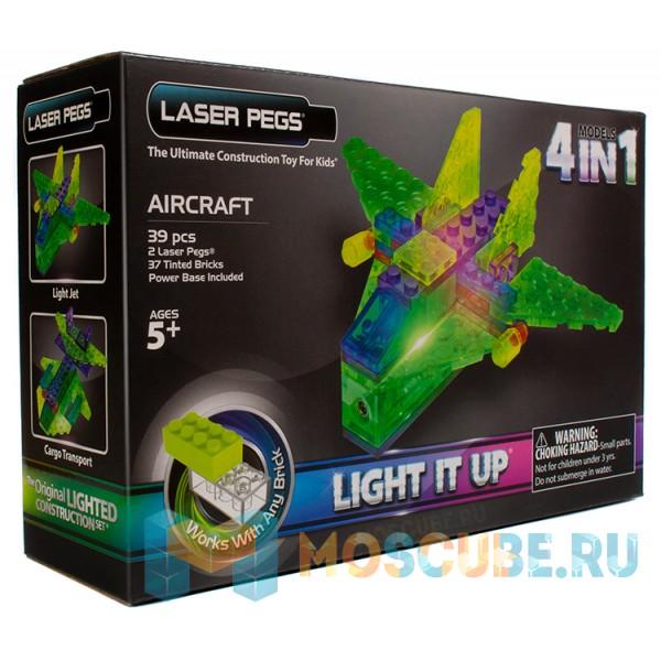 Конструктор Laser Pegs Авиация 4 в 1 MPS100B