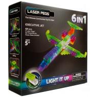 Конструктор Laser Pegs Самолеты 6 в 1 ZD140B