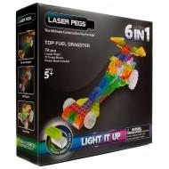 Конструктор Laser Pegs Гонка Драгстер 6 в 1 ZD130B