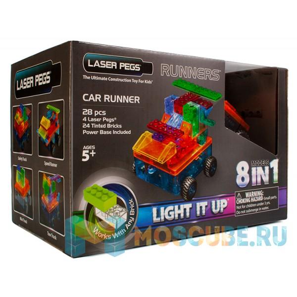 Конструктор Laser Pegs Машина 8 в 1 RN1320B