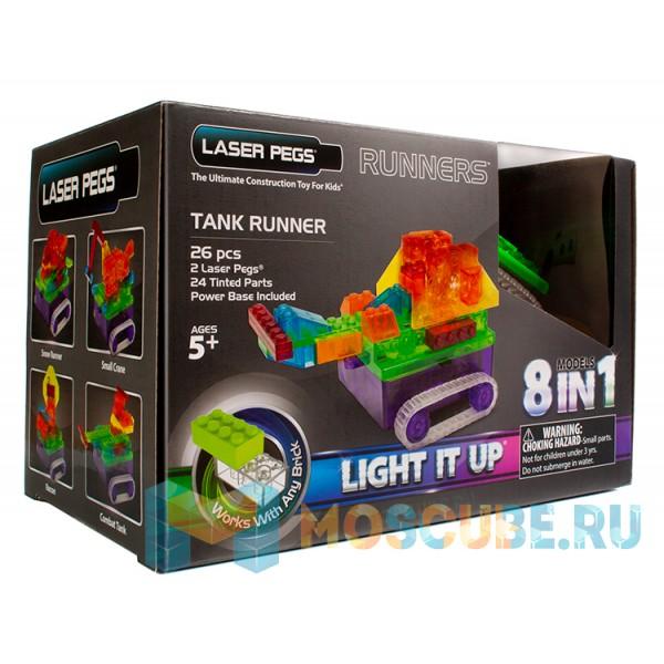Конструктор Laser Pegs Танк 8 в 1 RN1330B