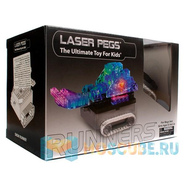 Конструктор Laser Pegs Танк 6 в 1 1320B