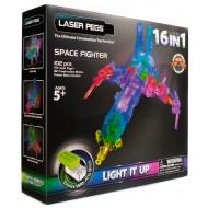 Конструктор Laser Pegs Космический истребитель 16 в 1 G9030B