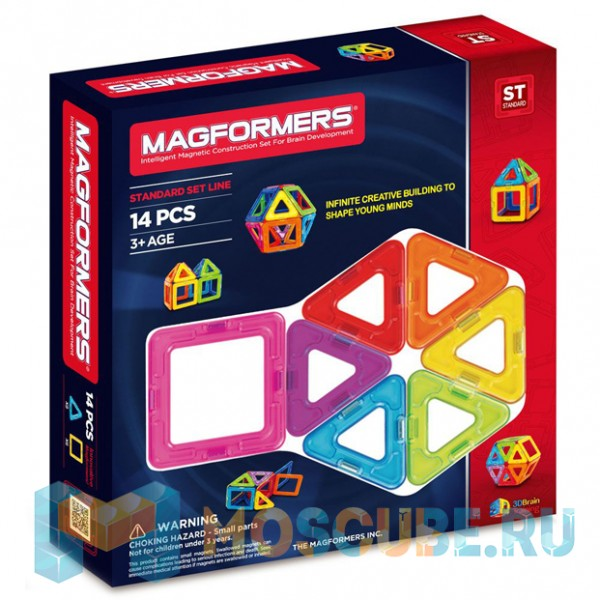 MAGFORMERS 63069 14