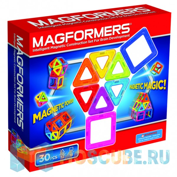 MAGFORMERS 63076 Набор радуга
