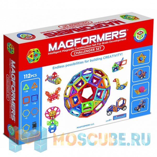 MAGFORMERS 63077 Challenger