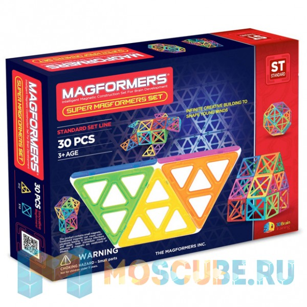 MAGFORMERS 63078 Набор Супер - 30