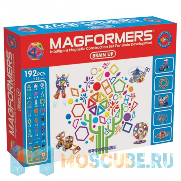 MAGFORMERS 63083 Brain Up set