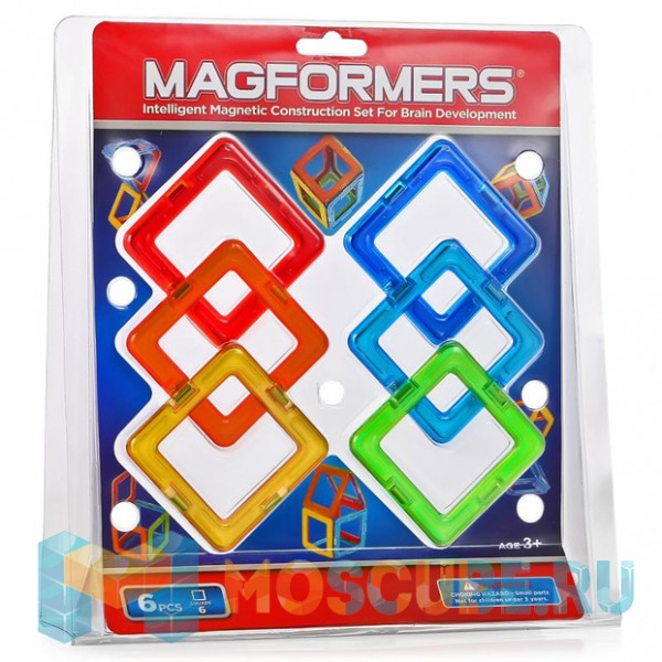MAGFORMERS 63086 Квадраты 6