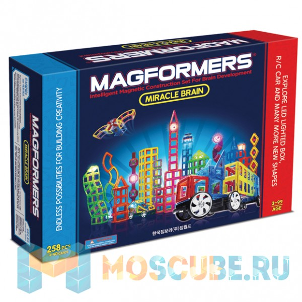 MAGFORMERS 63093 Miracle Brain set