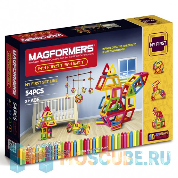 MAGFORMERS 702002 My First 54 Set