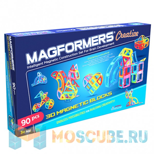 MAGFORMERS 63118 Creative 90