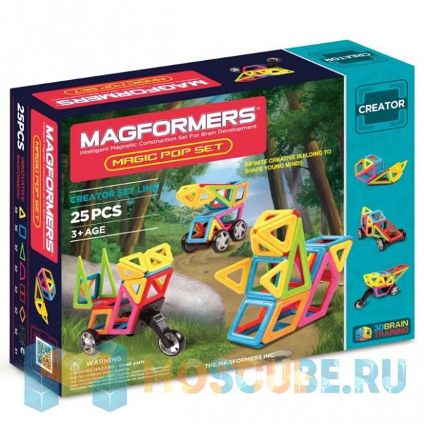 MAGFORMERS 63130 Magic Pop