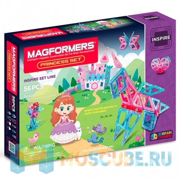 MAGFORMERS 63134 Princess Set